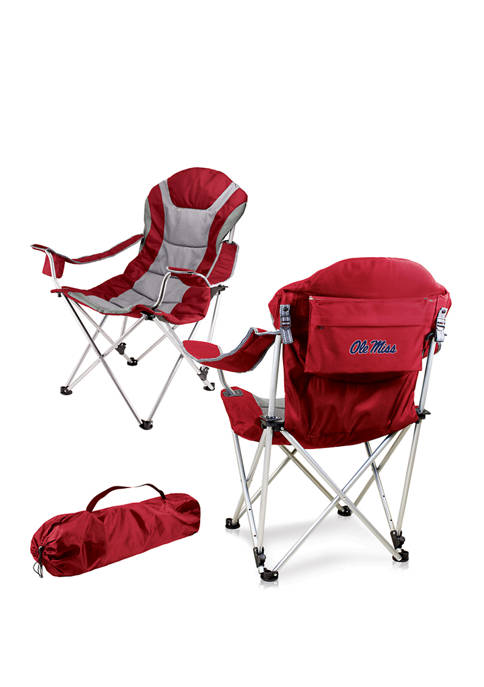 NCAA Ole Miss Rebels Reclining Camp Chair