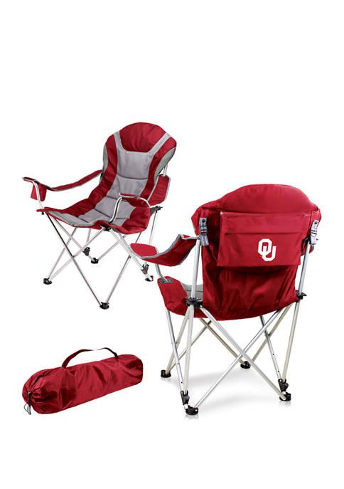 NFL Oklahoma Sooners Reclining Camp Chair