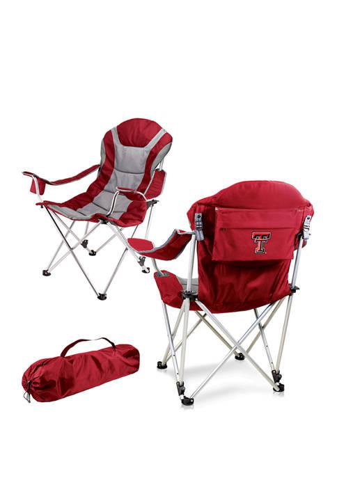 NCAA Texas Tech Red Raiders Reclining Camp Chair