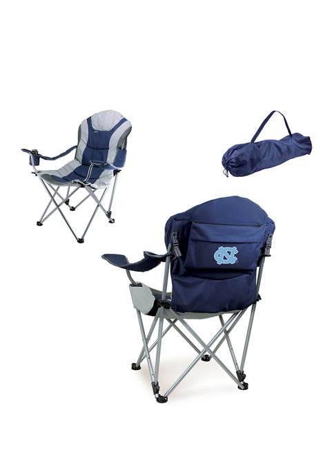NCAA UNC Tarheels Reclining Camp Chair
