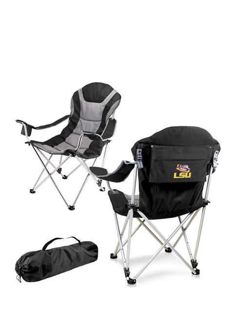 NCAA LSU Tigers Reclining Camp Chair