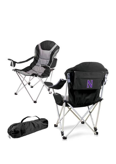 NCAA Northwestern Wildcats Reclining Camp Chair