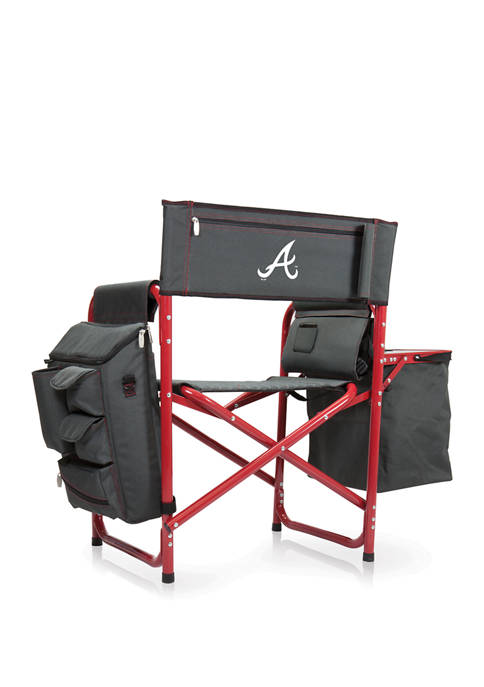 MLB Atlanta Braves Fusion Backpack Chair with Cooler