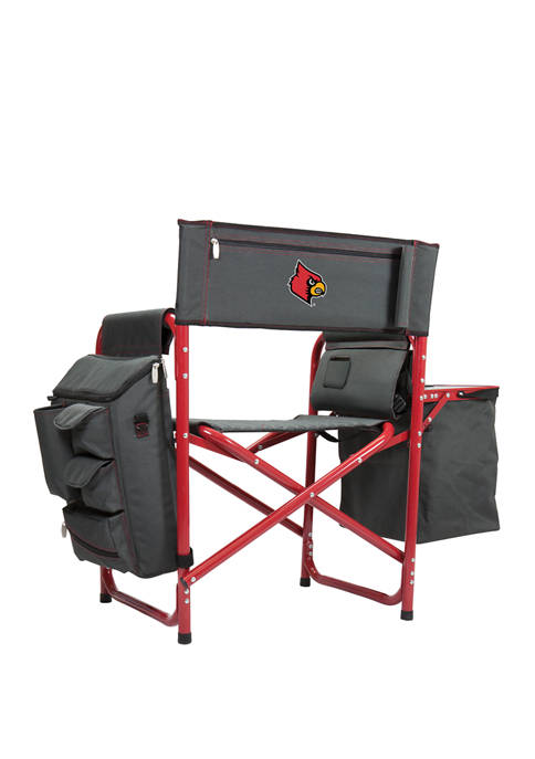 NCAA Louisville Cardinals Fusion Backpack Chair with Cooler