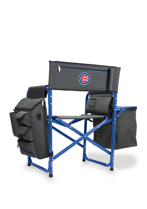 MLB Chicago Cubs Fusion Backpack Chair with Cooler