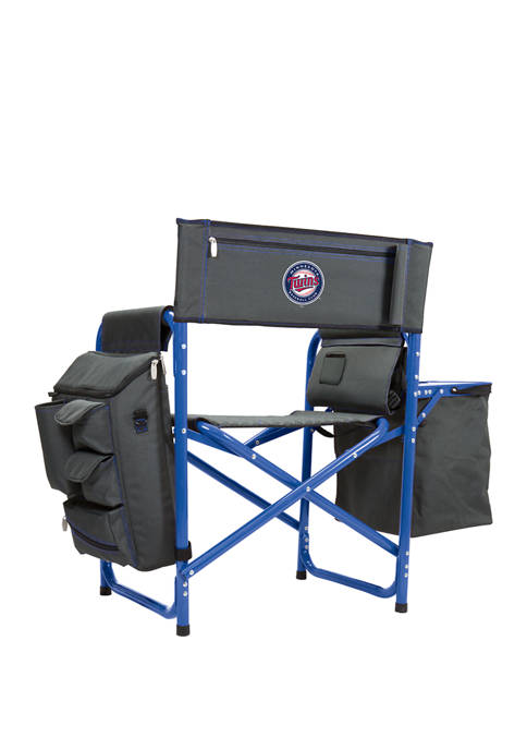 MLB Minnesota Twins Fusion Backpack Chair with Cooler