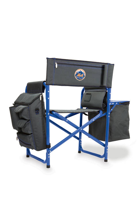 MLB New York Mets Fusion Backpack Chair with Cooler