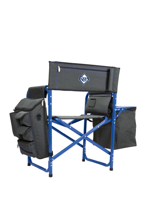 MLB Tampa Bay Rays Fusion Backpack Chair with Cooler