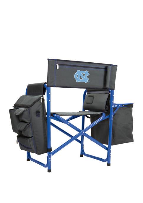 NCAA North Carolina Tar Heels Fusion Backpack Chair with Cooler