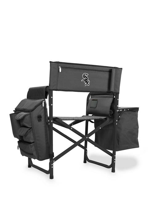 MLB Chicago White Sox Fusion Backpack Chair with Cooler