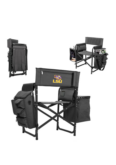 NCAA LSU Tigers Fusion Backpack Chair with Cooler