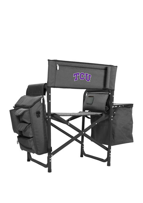NCAA TCU Horned Frogs Fusion Backpack Chair with Cooler