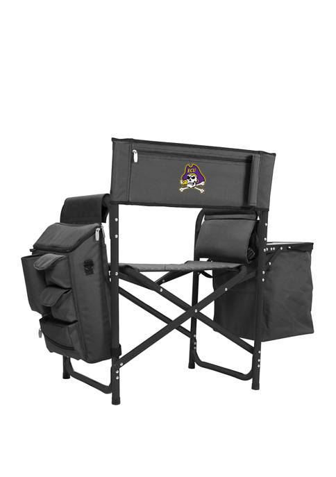 NCAA East Carolina Pirates Fusion Backpack Chair with Cooler