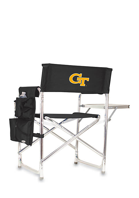 Picnic Time Georgia Tech Yellow Jackets Sports Chair
