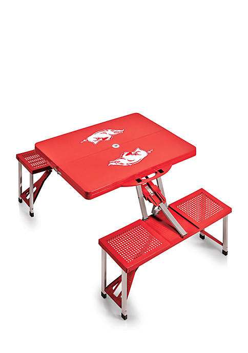 Picnic Time Arkansas Razorbacks Portable Picnic Table