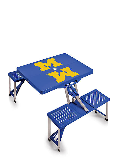 Picnic Time Michigan Wolverines Portable Picnic Table
