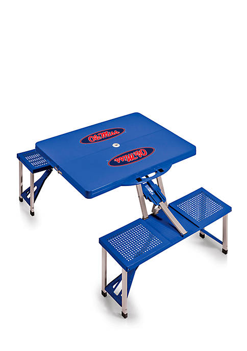 Ole Miss Rebels Portable Picnic Table