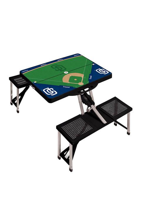 ONIVA MLB San Diego Padres Picnic Table Portable