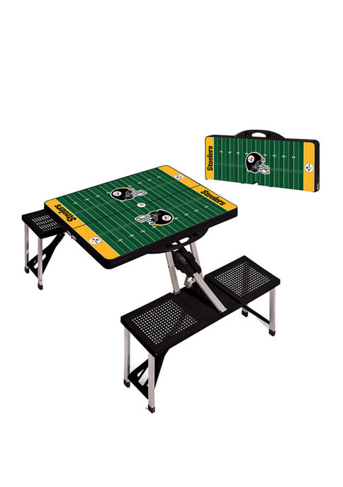 ONIVA NFL Pittsburgh Steelers Picnic Table Portable Folding