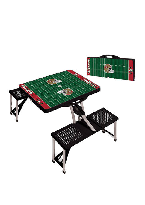 ONIVA NFL San Francisco 49ers Picnic Table Portable