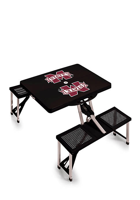Picnic Time Mississippi State Bulldogs Portable Picnic Table