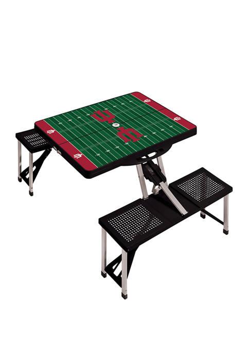 ONIVA NCAA Indiana Hoosiers Picnic Table Portable Folding