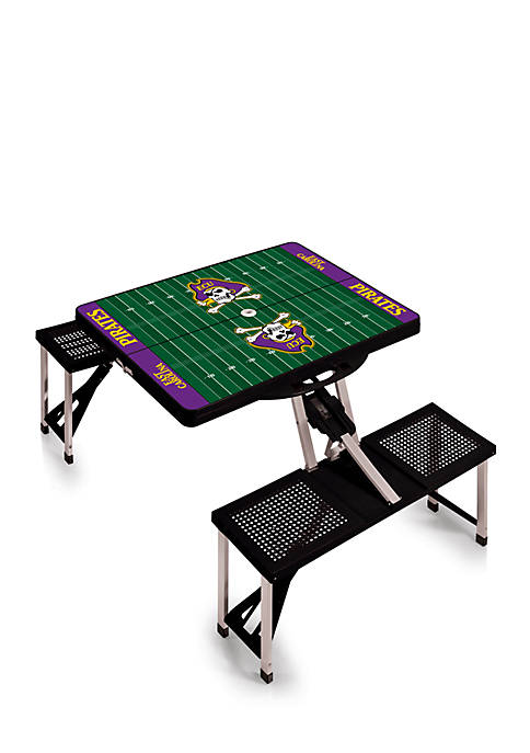 Picnic Time East Carolina Pirates Portable Picnic Table