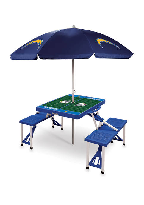 ONIVA NFL Los Angeles Chargers Picnic Table Sport