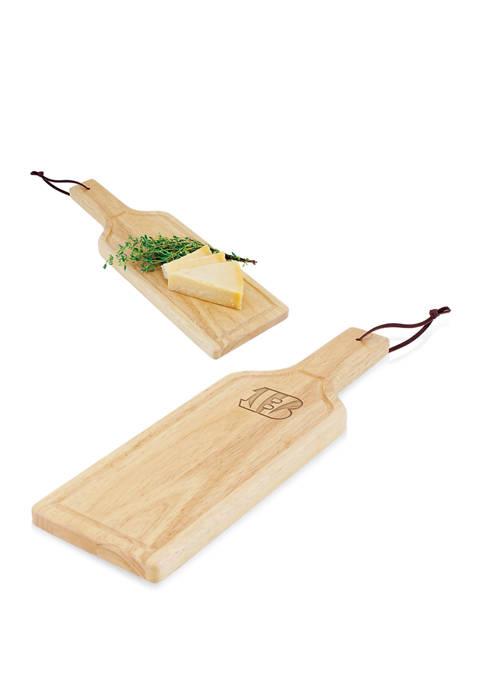 NFL Cincinnati Bengals Botella Cheese Cutting Board & Serving Tray