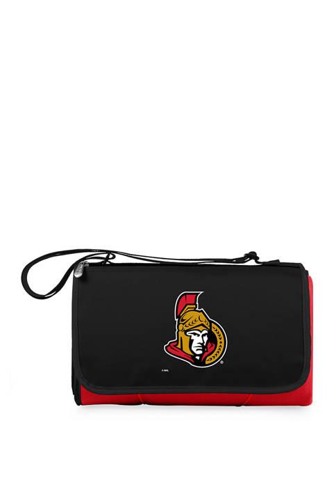 NHL Ottawa Senators Blanket Tote Outdoor Picnic Blanket