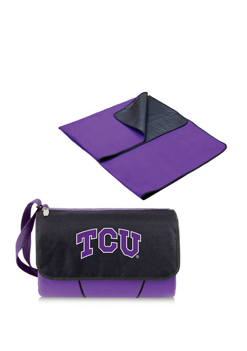 Picnic Time NCAA TCU Horned Frogs Blanket Tote
