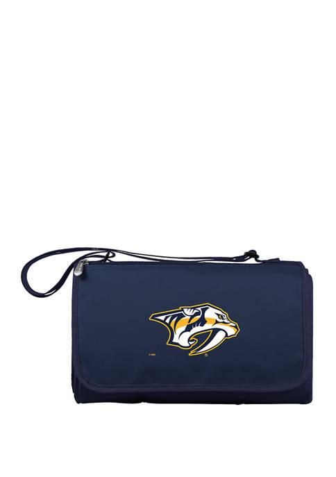 NHL Nashville Predators Blanket Tote Outdoor Picnic Blanket