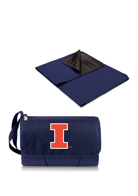 Picnic Time NCAA Illinois Fighting Illini Blanket Tote