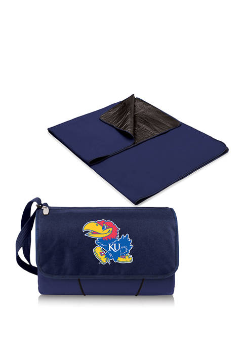 NCAA Kansas Jayhawks Blanket Tote Outdoor Picnic Blanket