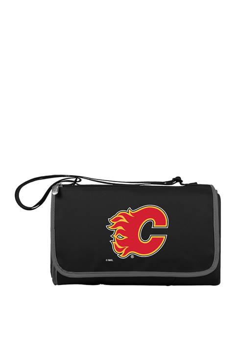 NHL Calgary Flames Blanket Tote Outdoor Picnic Blanket