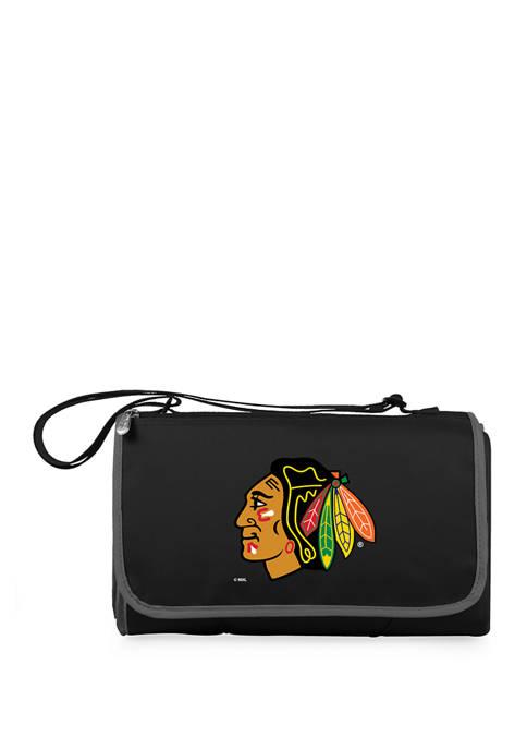 NHL Chicago Blackhawks Blanket Tote Outdoor Picnic Blanket