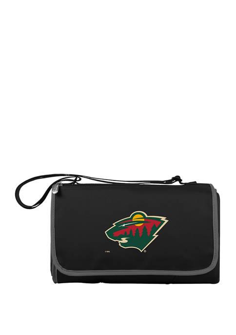 NHL Minnesota Wild Blanket Tote Outdoor Picnic Blanket