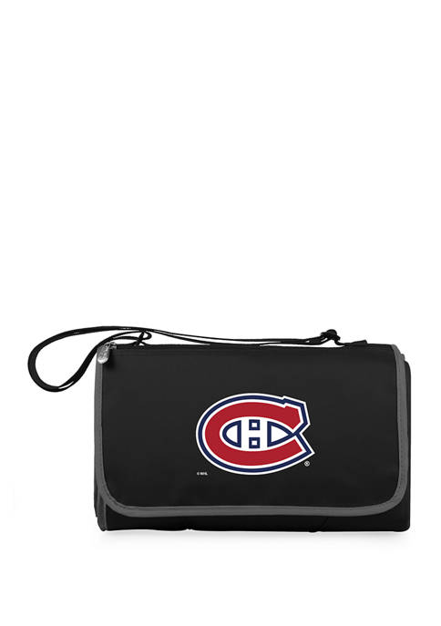 NHL Montreal Canadiens Blanket Tote Outdoor Picnic Blanket