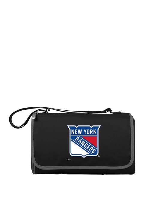 NHL New York Rangers Blanket Tote Outdoor Picnic Blanket