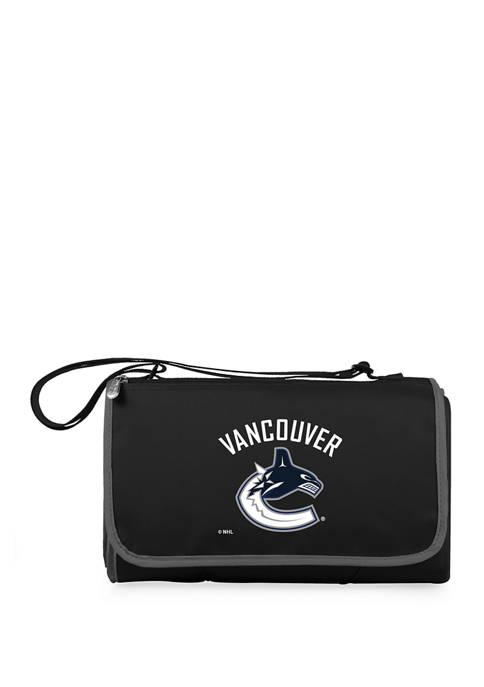 NHL Vancouver Canucks Blanket Tote Outdoor Picnic Blanket