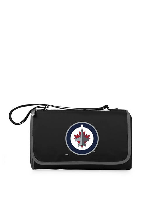 NHL Winnipeg Jets Blanket Tote Outdoor Picnic Blanket