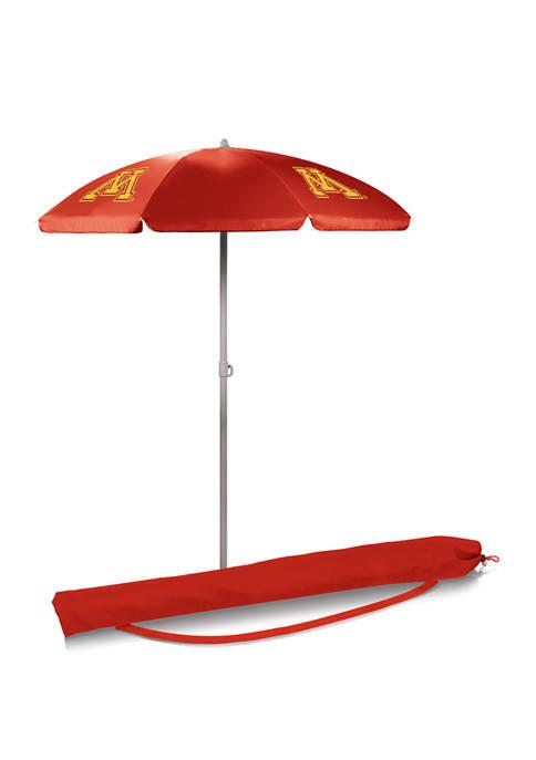 NFL Minnesota Golden Gophers 5.5 Foot Portable Beach Umbrella