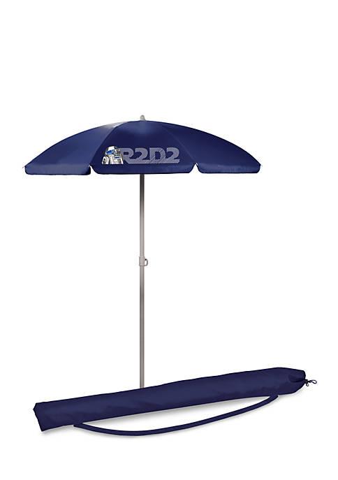 R2-D2 5.5 Foot Portable Beach Umbrella