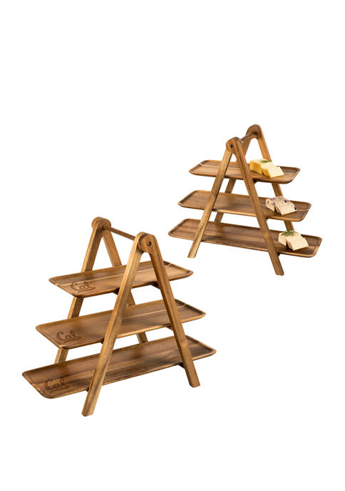 TOSCANA NCAA Cal Bears Serving Ladder 3 Tiered