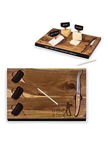 Ratatouille 'Delio' Acacia Cheese Board and Tools Set