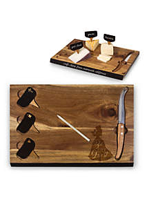 Beauty & the Beast - 'Delio' Acacia Cheese Board & Tools Set by Picnic Time (Acacia)