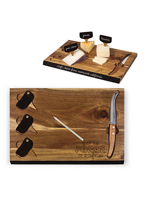 Rebel Delio Acacia Cheese Board and Tools Set