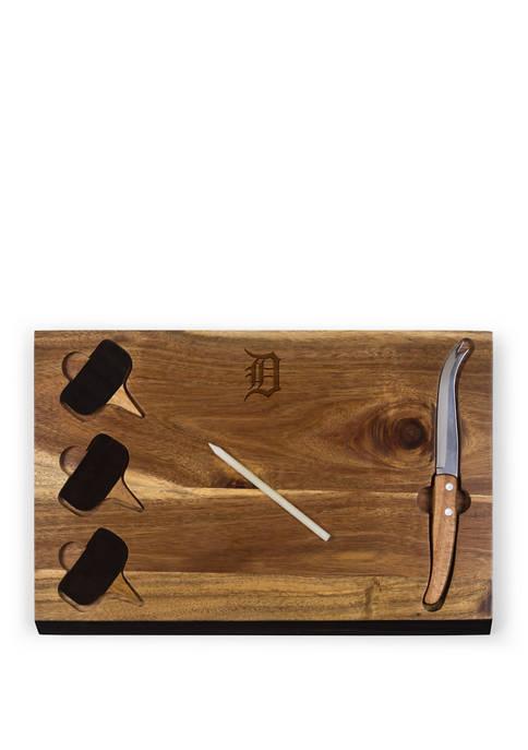 TOSCANA MLB Detroit Tigers Delio Acacia Cheese Cutting