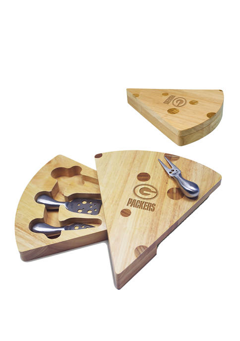 TOSCANA NFL Green Bay Packers Swiss Cheese Cutting