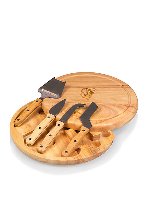 Baltimore Orioles Circo Cheese Board and Tools Set